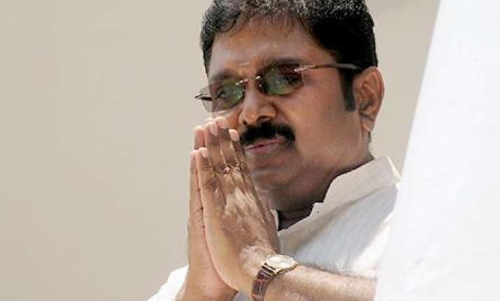 Sidelined AIADMK leader TTV Dhinakaran - File Photo