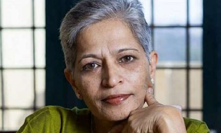 Lankesh was shot dead at her Bengaluru home on the night of