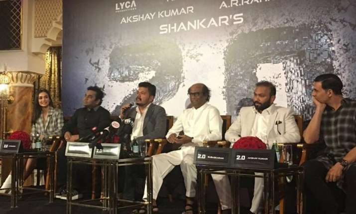 Filmmaker Shankar speaks on 2.0 pre audio launch