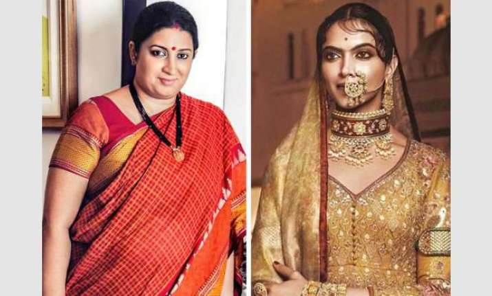 Deepika Padukone requests Smriti Irani to take action