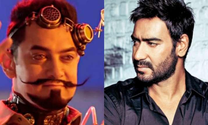 Aamir Khan lauds Ajay Devgn