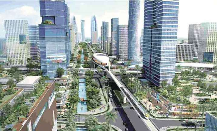 Andhra Pradesh's new capital city Amaravati