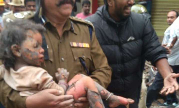 Child rescued from rubble will be adopted by Karnataka