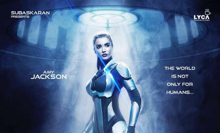 New poster of Rajinikanth's 2.0 featuring Amy Jackson
