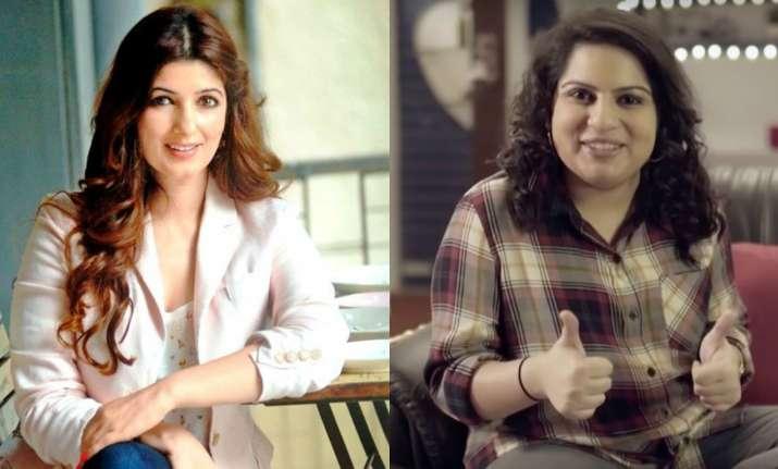 Mallika Dua finds Twinklw Khanna's lame jokes hilarious