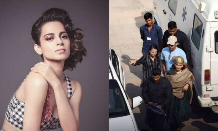 Kangana Ranaut's look from Manikarnika gets leaked