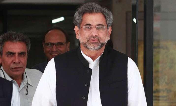 Pakistan Prime Minister Khaqan Abbasi