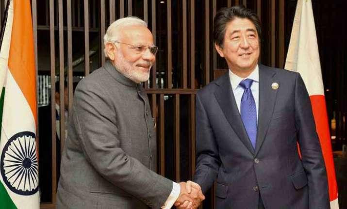 PM Modi congratulates Shinzo Abe for projected election win