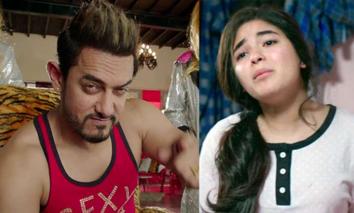 Secret Superstar Aamir Khan on Zaira Wasim