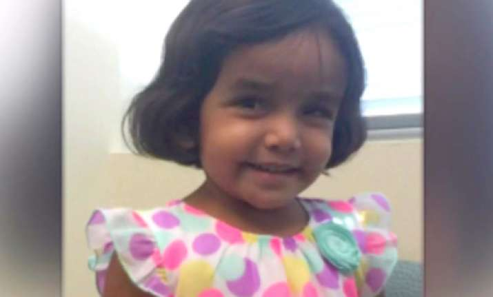 3-yr-old missing Indian girl Sherin Mathews