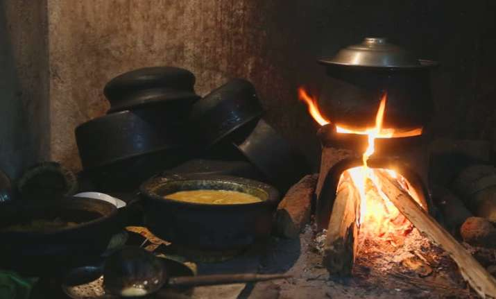 Indoor cooking is a major reason for pollution inside rural
