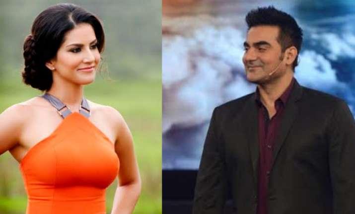 Sunny Leone and Arbaaz Khan in Tera Intezaar trailer