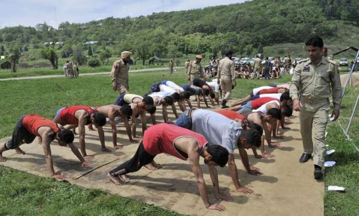 28,000 youth appear for J-K police constable recruitment