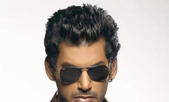 Tamil actor Vishal's production house raided after Mersal