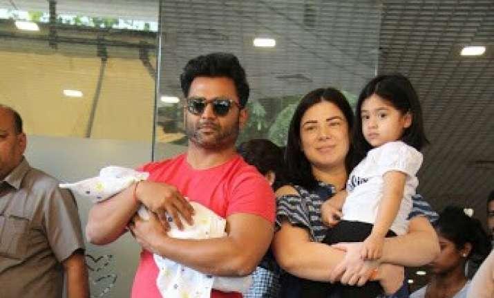 Naqaab actress Urvashi Sharma and Sachiin Joshi welcome