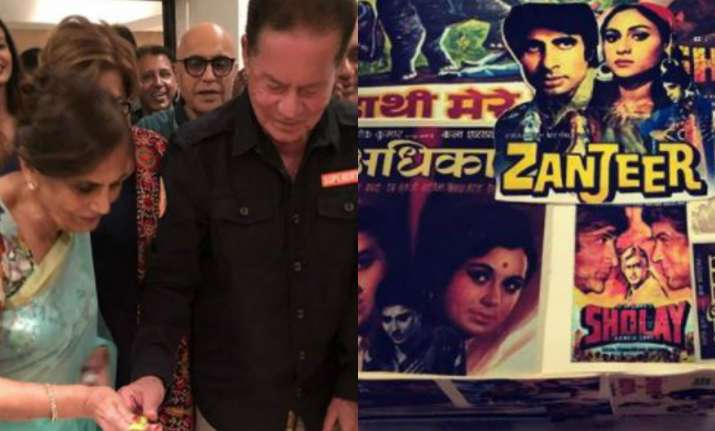 Salim Khan's birthday celebration