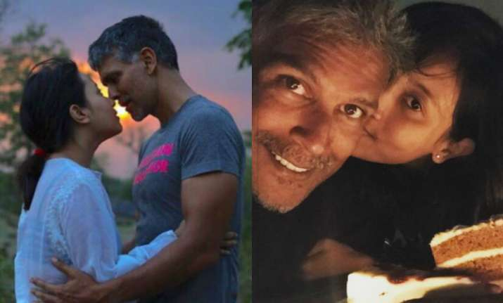 Milind Soman often posts photographs with her ladylove