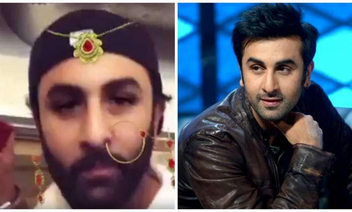 Ranbir Kapoor and hilarious Snapchat filter