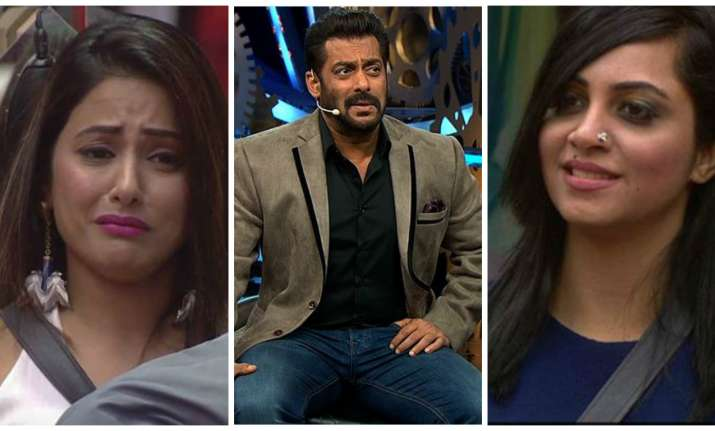 Salman Khan supports Arshi Khan in Weekend Ka Vaar