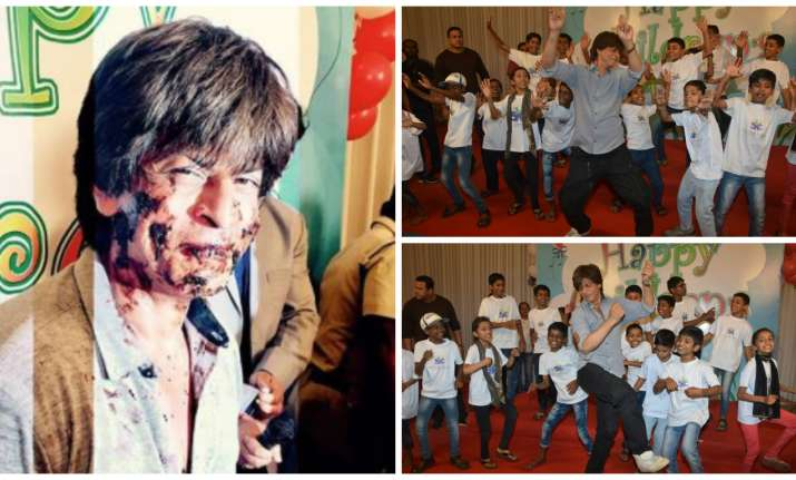 Shah Rukh Khan's Children's Day celebration