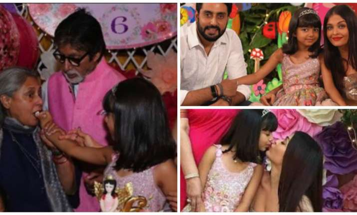 Birthday pictures of Aaradhya Bachchan