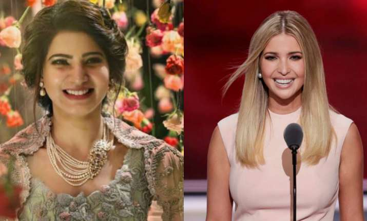 Samantha Akkineni and Ivanka Trump