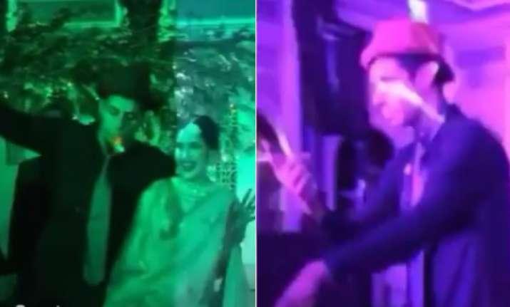 Ashish Nehra at Sagarika Ghatge and Zaheer Khan's reception