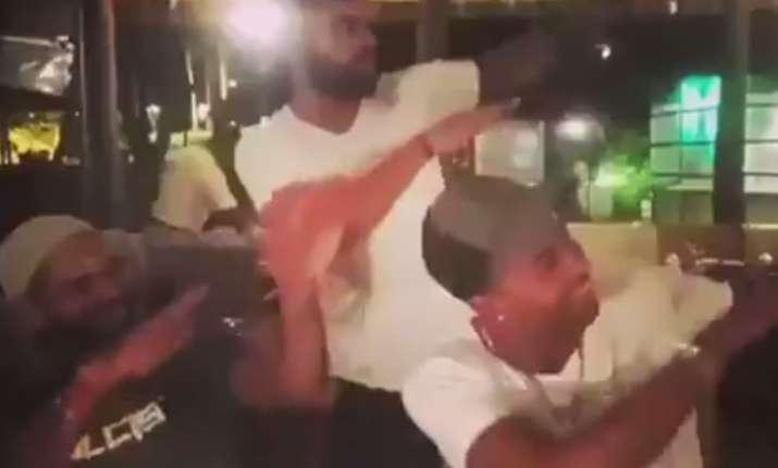 Virat Kohli shared this boomerang video on his Instagram