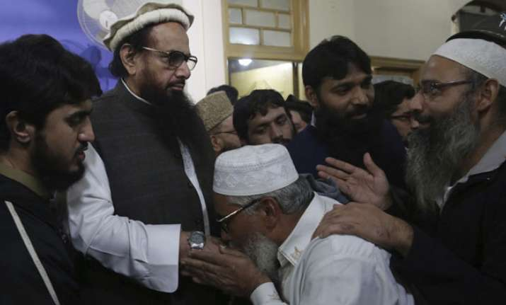 US 'strongly condemns' 26/11 mastermind Hafiz Saeed's