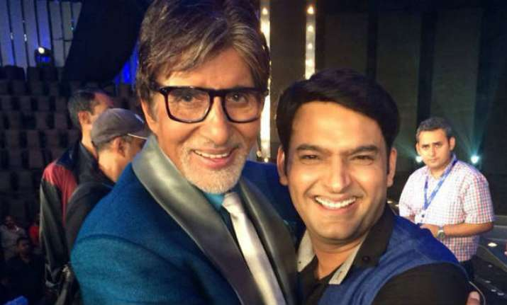 Firangi Kapil Sharma grateful to Amitabh Bachchan for
