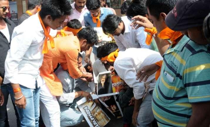 Padmavati row: Protests turn violent as Karni Sena members