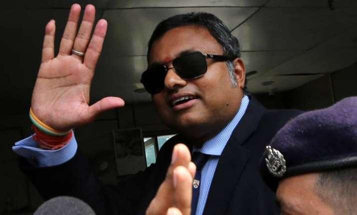SC allows Karti Chidambaram to visit UK for daughter's