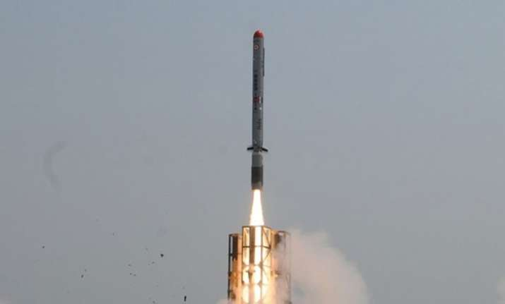The maiden test flight of 'Nirbhay' held on March 12, 2013