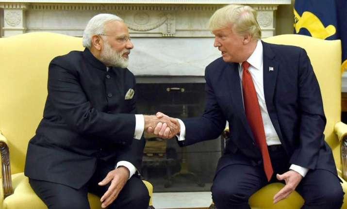 Modi-Trump meet likely on Monday on sidelines of ASEAN