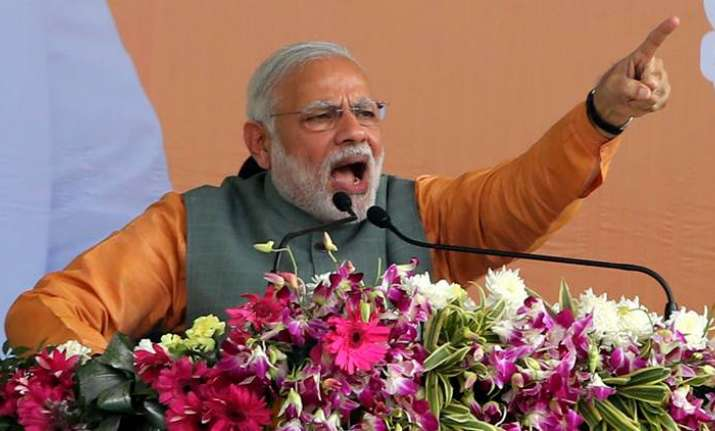PM Modi to sound BJP's poll buggle with four back-to-back
