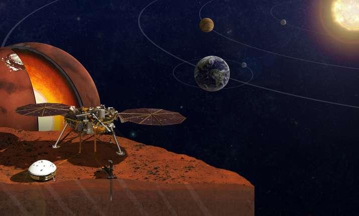 NASA's InSight lander will travel to Mars next year