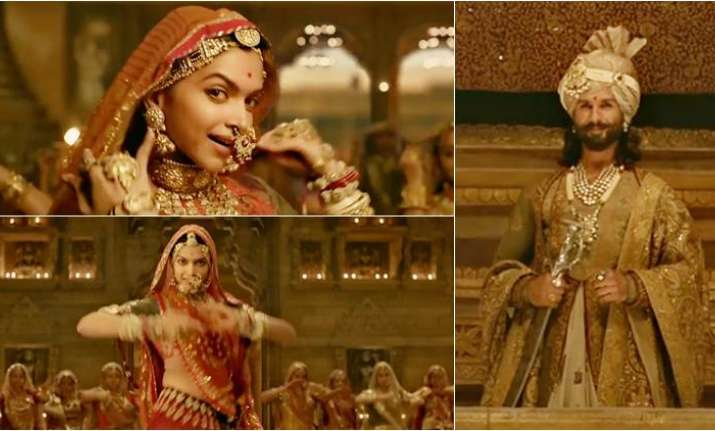 Here's why Padmavati Ghoomar song was challenging for ...