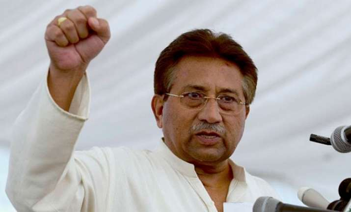 Pervez Musharraf was declared a fugitive from law by a