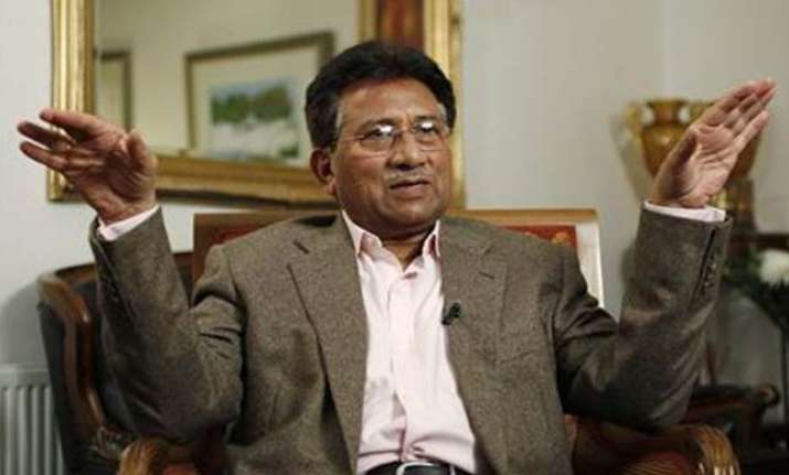 File photo of Pervez Musharraf