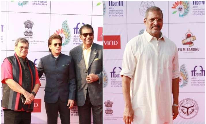 Shah Rukh Khan Nana Patekar Smriti Irani attend