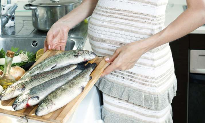 Consume fish to keep your baby protected from breathing