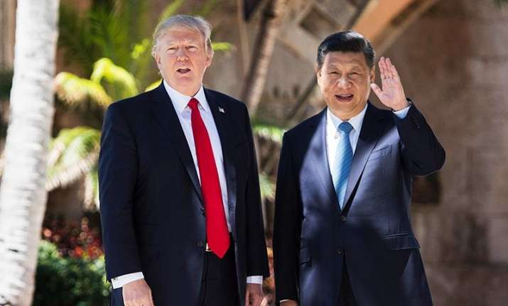 US President Donald Trump and Chinese Premiere Xi Jinping