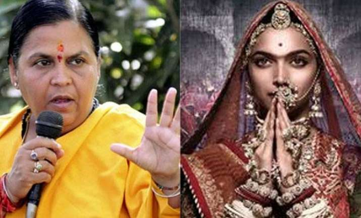 Uma Bharti on Padmavati row: Story is the responsibility of