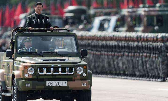 Xi became chairman of the military commission in 2012 and