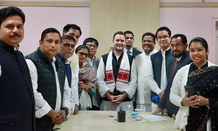 Congress leaders rejoice ahead of Rahul's imminent