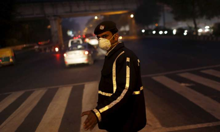 Delhi's traffic personnel are exposed to harsh weather