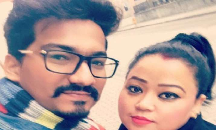 Bharti Singh and husband Haarsh Limbachiyya in Budapest for