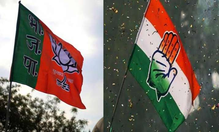 The Congress and BJP are set for a close run to the finish