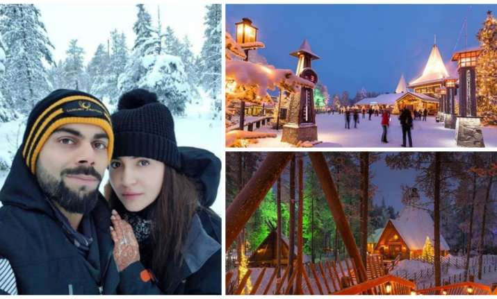 Virat Anushka's honeymoon in Finland