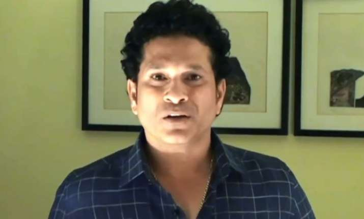 Sachin Tendulkar shares a video on his social media accounts